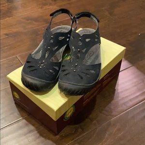 Black all terrain sandals